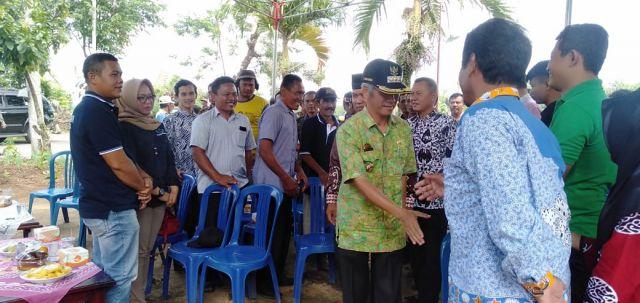 Bupati Pringsewu Menghadiri Kegiatan Temu Lapang Bersama Pembudidaya Ikan Lele Dilanjutkan Panen Ikan Lele Kolam Terpal