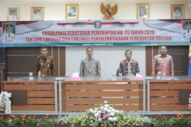 Pemkab Pringsewu Sosialisasikan PP No.13 Tahun 2019
