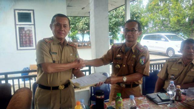 Sertijab Kepala Dinas Perikanan Kabupaten Pringsewu
