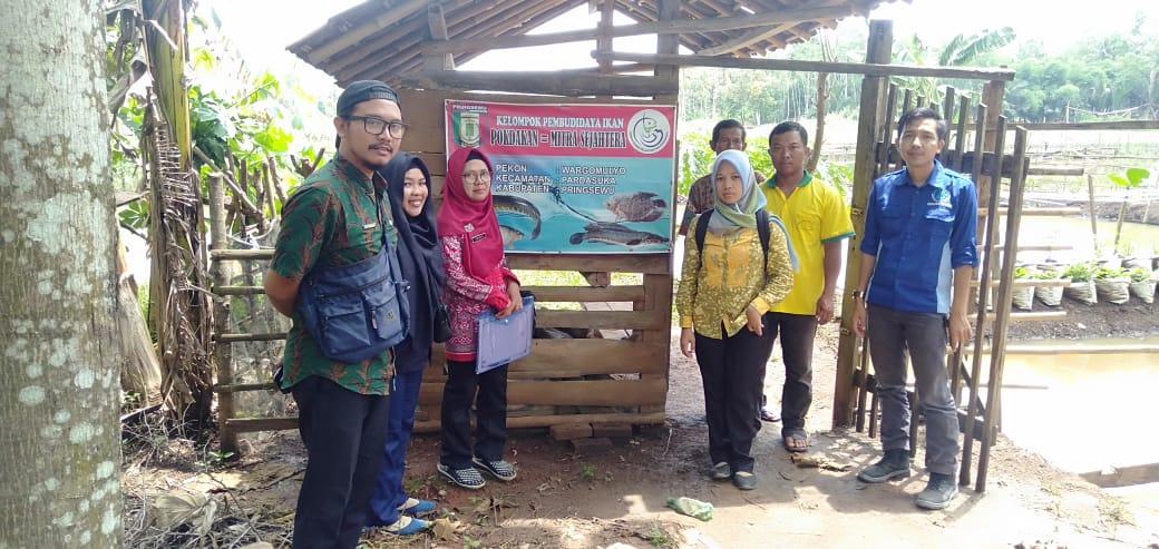 Survey Calon Penerima Calon Lokasi CPCL Dinas Perikanan Kabupaten Pringsewu